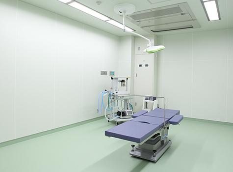 手術室 OPERATING ROOM